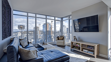 condo living room interior